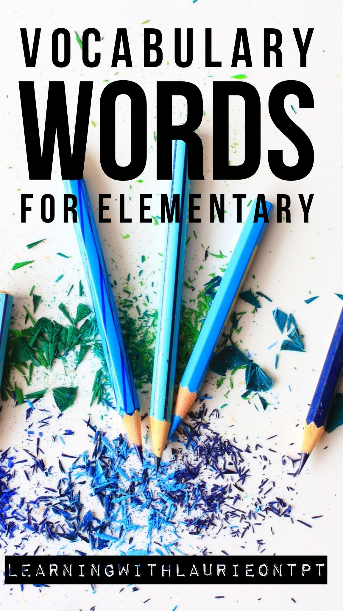 Vocabulary Words For Elementary In