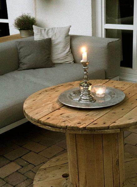 Kabeltrommel als tisch silver flatware candlesticks - Tisch kabeltrommel ...