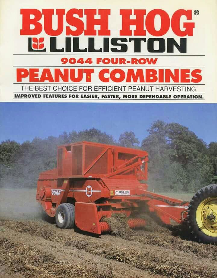 Bush hog 9044 4row peanut combines ad farm machinery