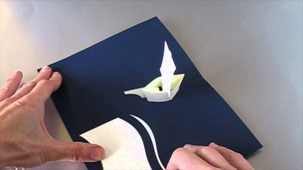 Leporello Boat Pop Up Greetings Card Pop Up Cards Pop Up Pop Up Book