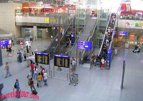 Frankfurt Airport terminal 2 Frankfurt airport