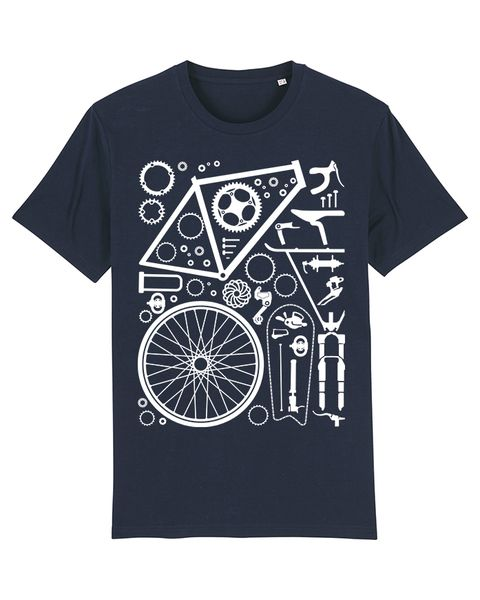 Photo of wat? Apparel Fahrradteile | T-shirt Herren