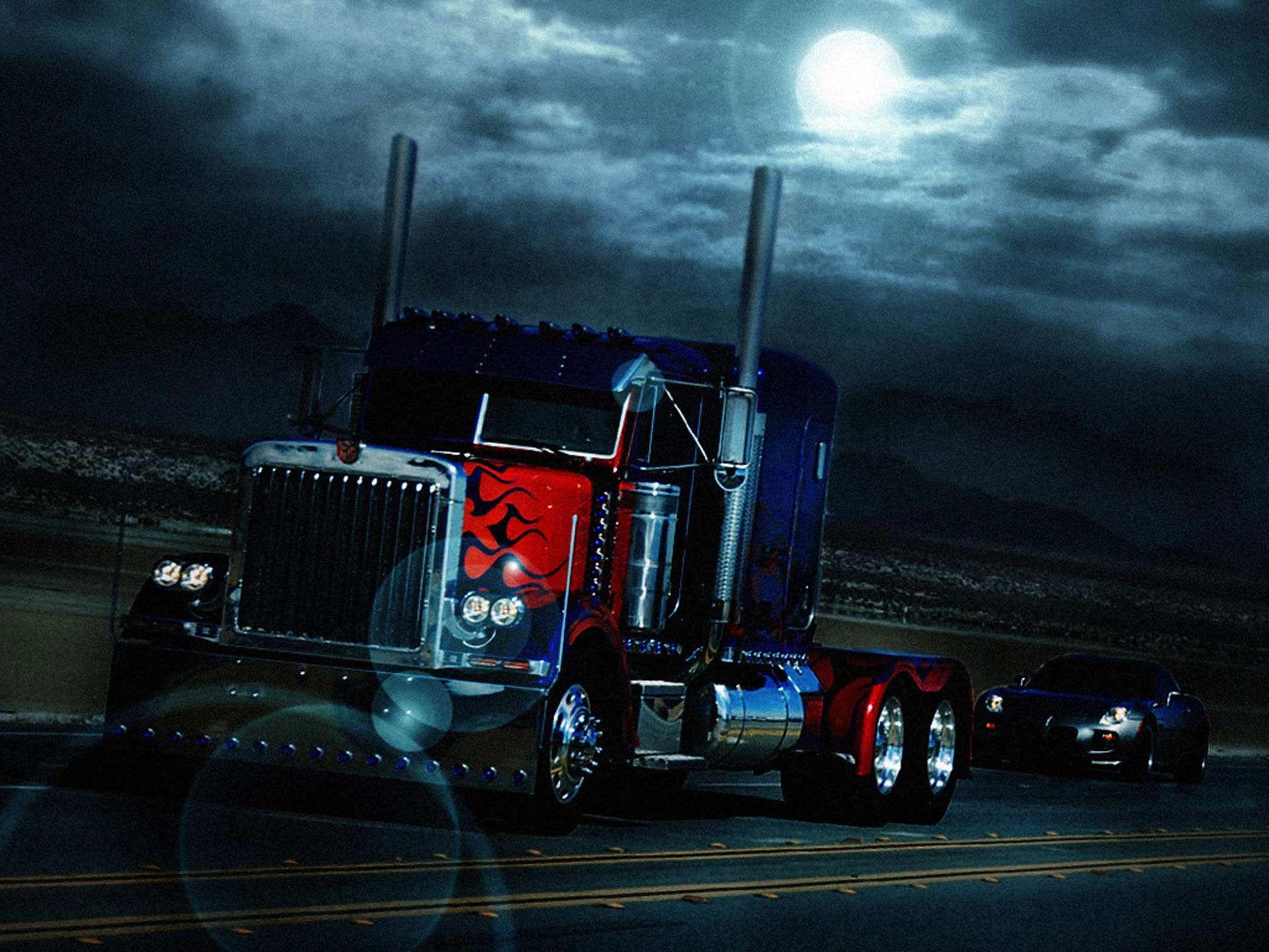 Картинки грузовика оптимуса прайма