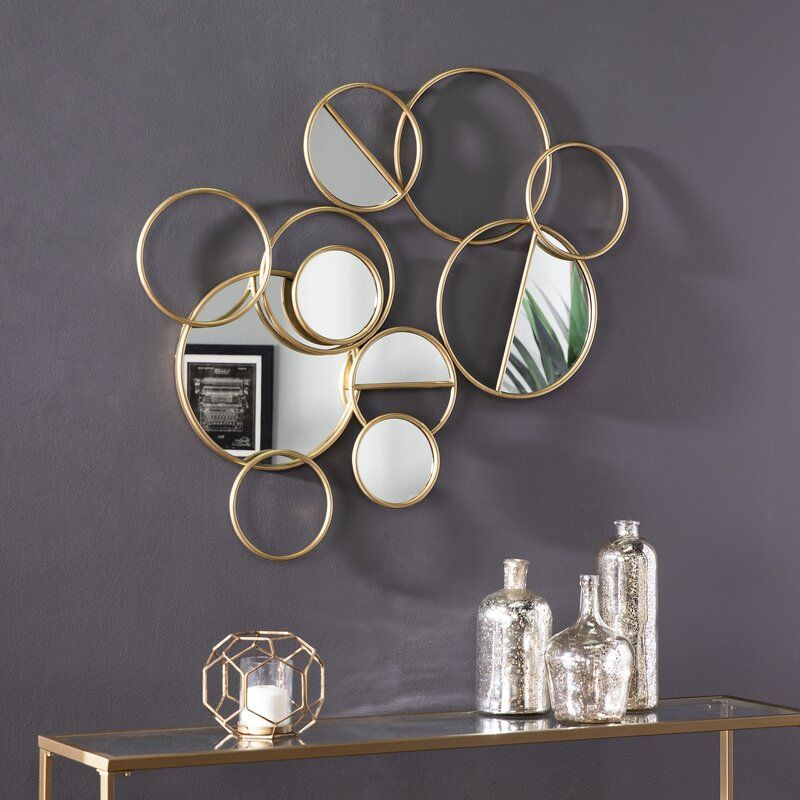 Mercer41 Mecham Decorative Glam Accent Mirror Wayfair Framed Mirror Wall Mirror Wall Decor Unique Wall Decor