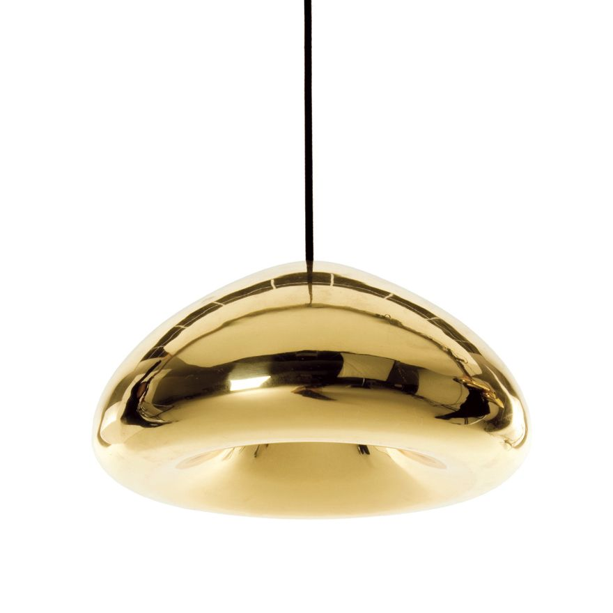 091006a02d8  lighting  gold  futuristic  hanging  fixture Designed by Tom Dixon