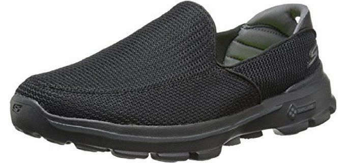 Skechers Performance Men's Go Walk 3 Slip-On Walking Travel Shoes
