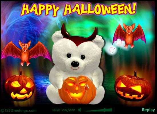 Cute Halloween E Card!! 123 Greetings!