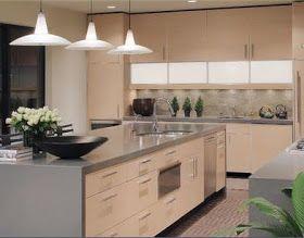 Diseño muebles cocina en exposición de la imagen tiene un estilo de ...