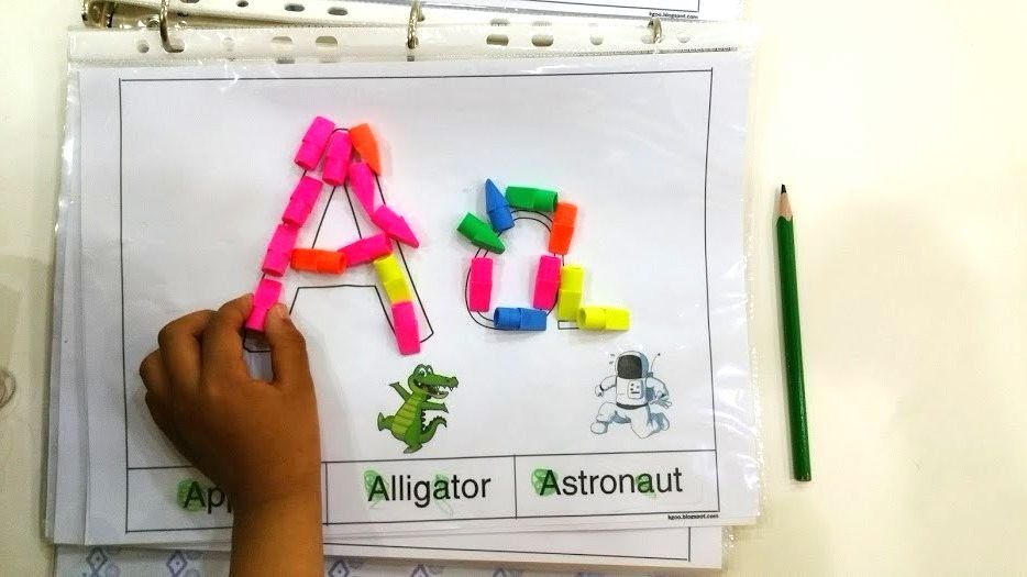 أنشطة متنوعة وجذابة مع أوراق عمل جاهزة للطباعة على هذه الأنشطة على حرف A لرياض الأطفال استكمالا لدرس الحروف الإنجليزية كبتل وسمو Blog Posts Kindergarten Blog