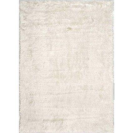 Nuloom 5' x 7' Cloud Shag Rug in White