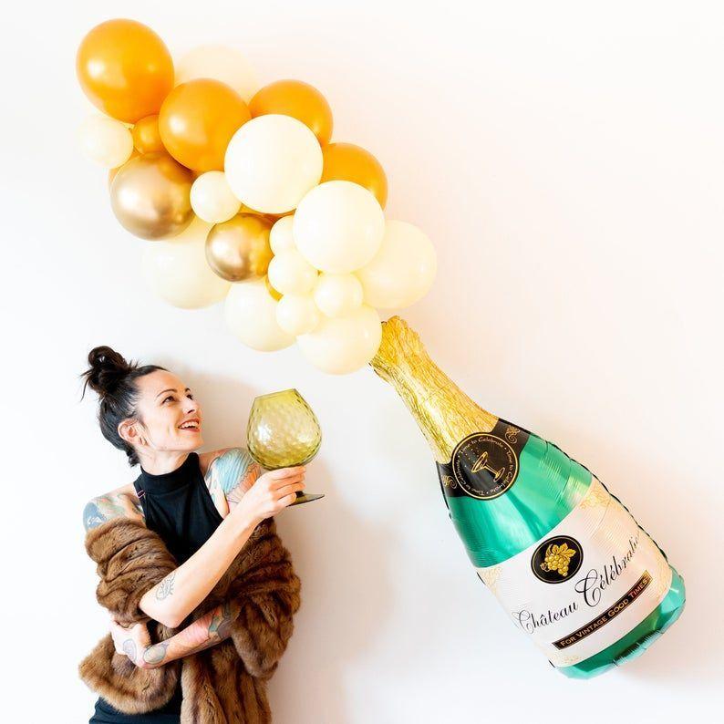 Balloon Arch Diy Discover Champagne Balloon Garland Kit ...