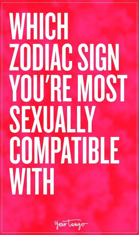 Zodiac signs sexuality poster