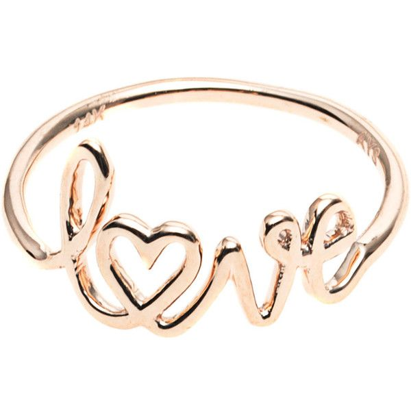 ART YOUTH SOCIETY Love Rose Gold 14 k rose gold ring 435