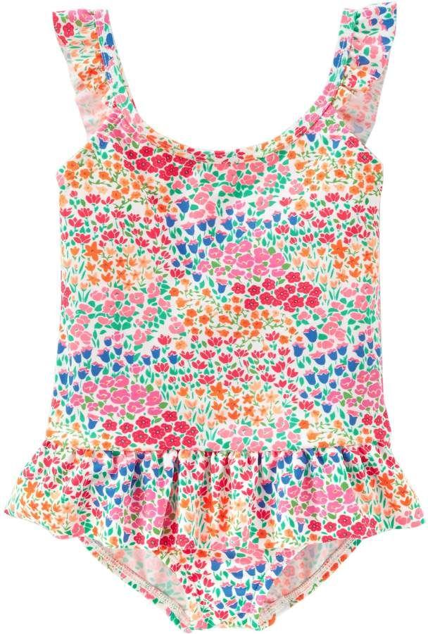 0fafd6a01fcc6 Osh Kosh Oshkosh Bgosh Baby Girl Floral One-Piece Swimsuit