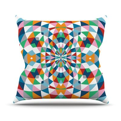 East Urban Home Modern Day by Project M Outdoor Throw Pillow
