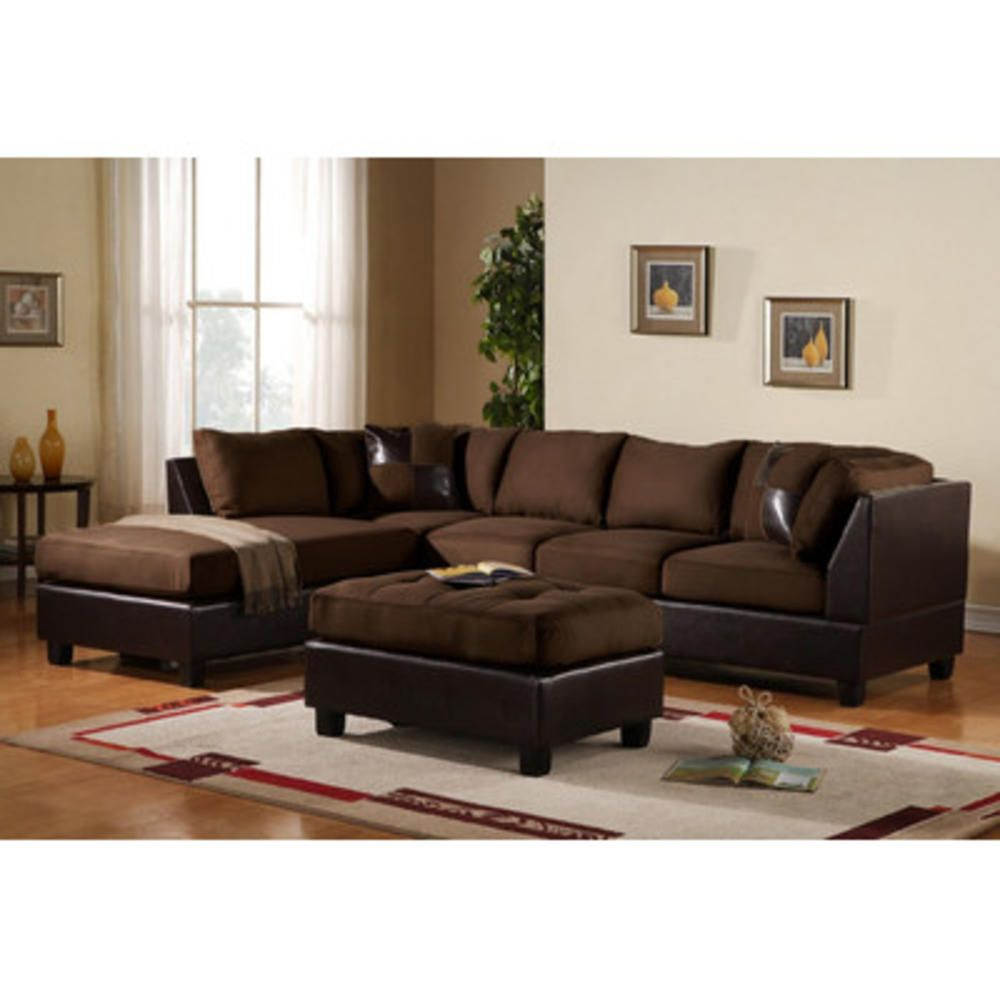 Madison Home USA Reversible Chaise Sectional | Sofas | Pinterest