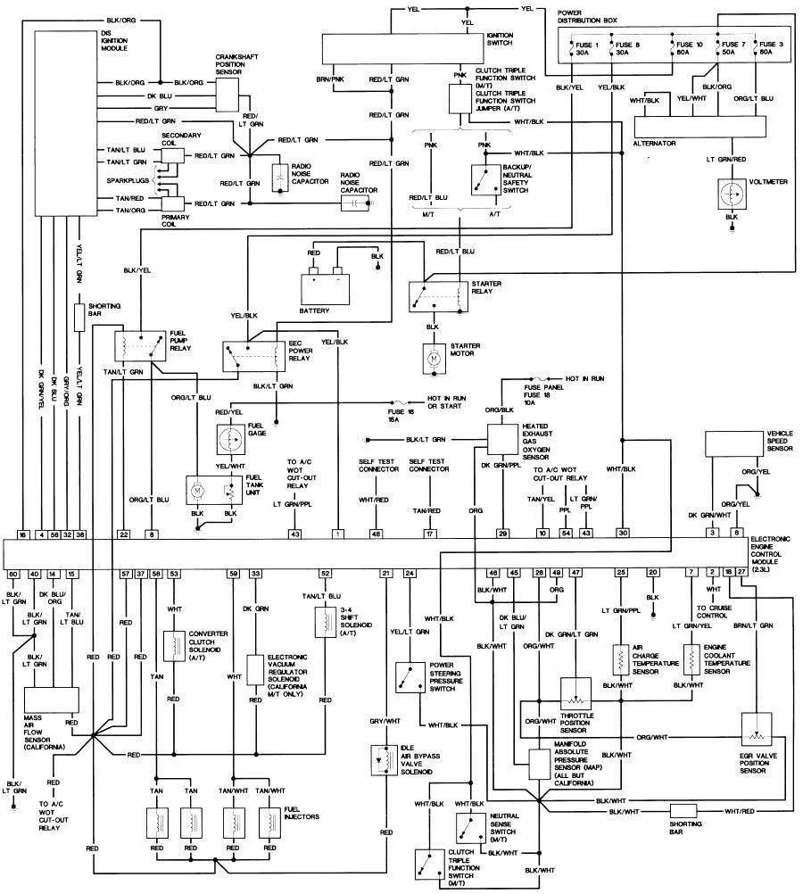 2003 Ford Explorer Schematic