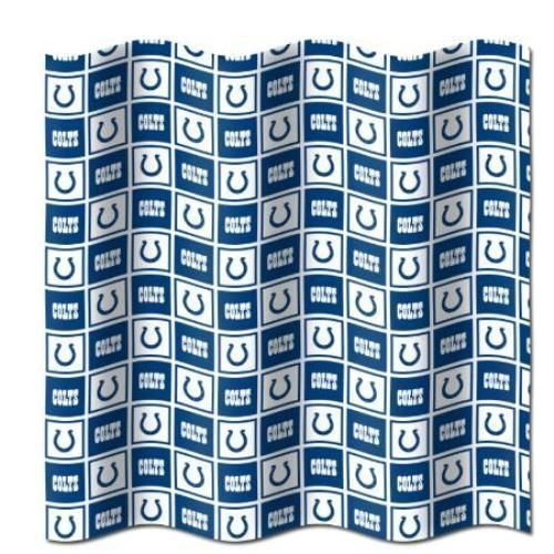 Indianapolis Colts Nfl Logo Shower Curtain 72X72 Free Us Shipping