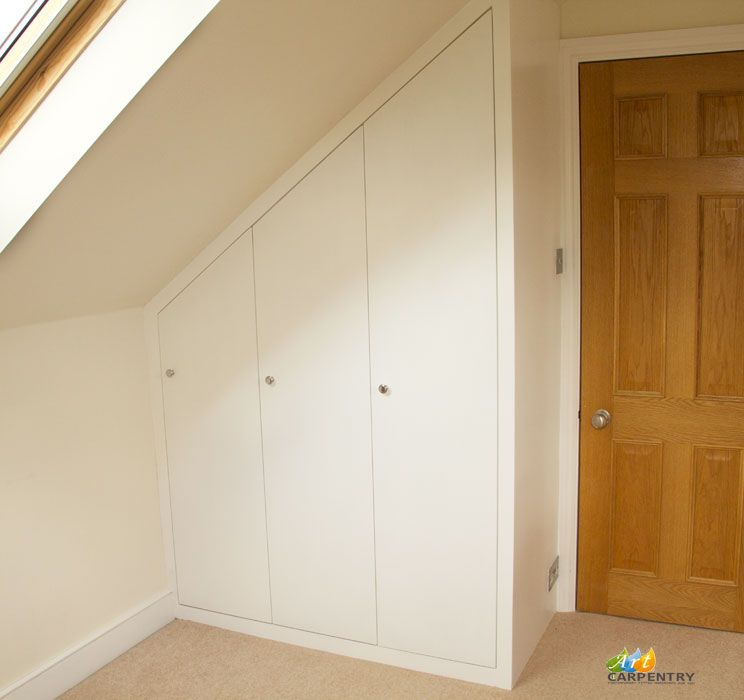 3 Doors Loft Fitted Wardrobe Kingston London. & 3 Doors Loft Fitted Wardrobe Kingston London. | Ideas for the ... pezcame.com