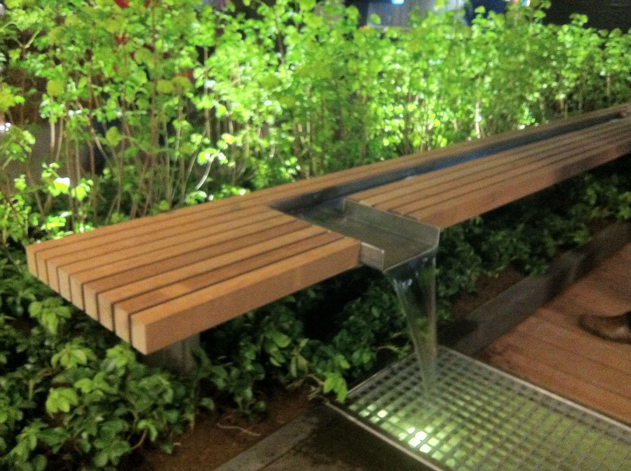 Tuinidee 2013 water element bank tuin garden ideas pinterest