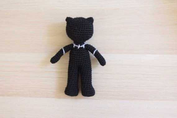Black Panther King T Challa Amigurumi Crochet Marvel Avengers Plush Doll Pattern Black Panther King T Challa Amigurumi Crochet Marvel Etsy Amig Black Panther King T Chall...