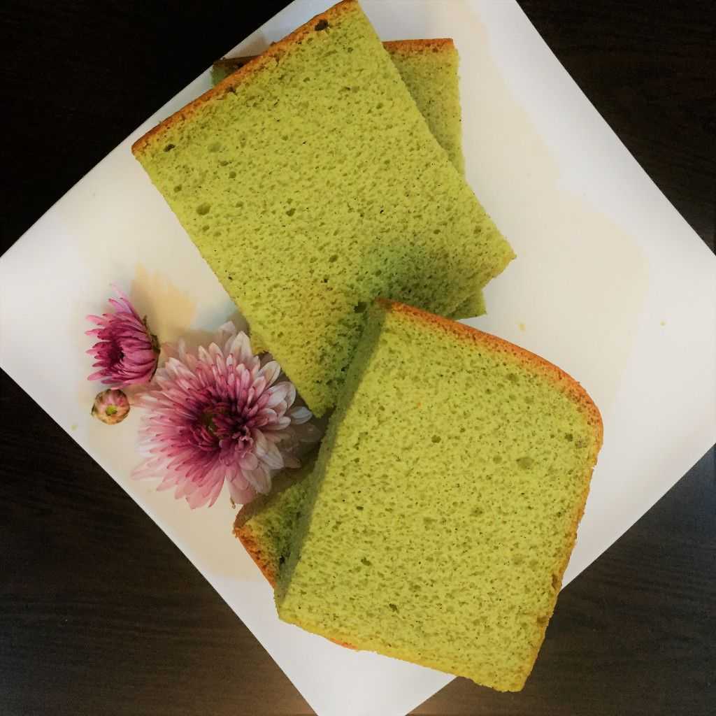 Banana Pandan Chiffon Pandan Chiffon Cake Cake Flour
