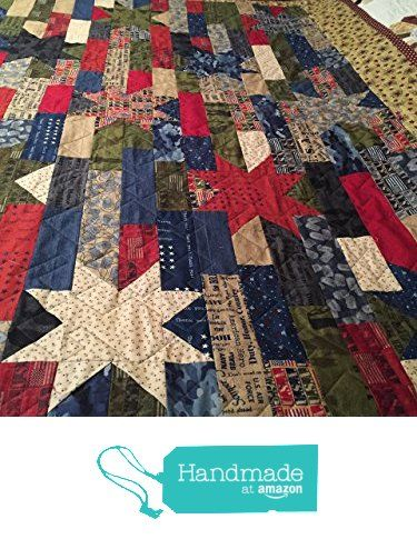 Stars & Stripes, Because Of The Brave, Quilted Throw/Lap from Donna's Quilts & Bags http://www.amazon.com/dp/B0188181PS/ref=hnd_sw_r_pi_dp_fRwCwb0S7G4Y9 #handmadeatamazon