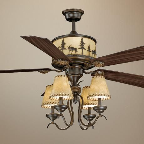 The Ceiling Fan That Has A Matching Chandelier It S Going