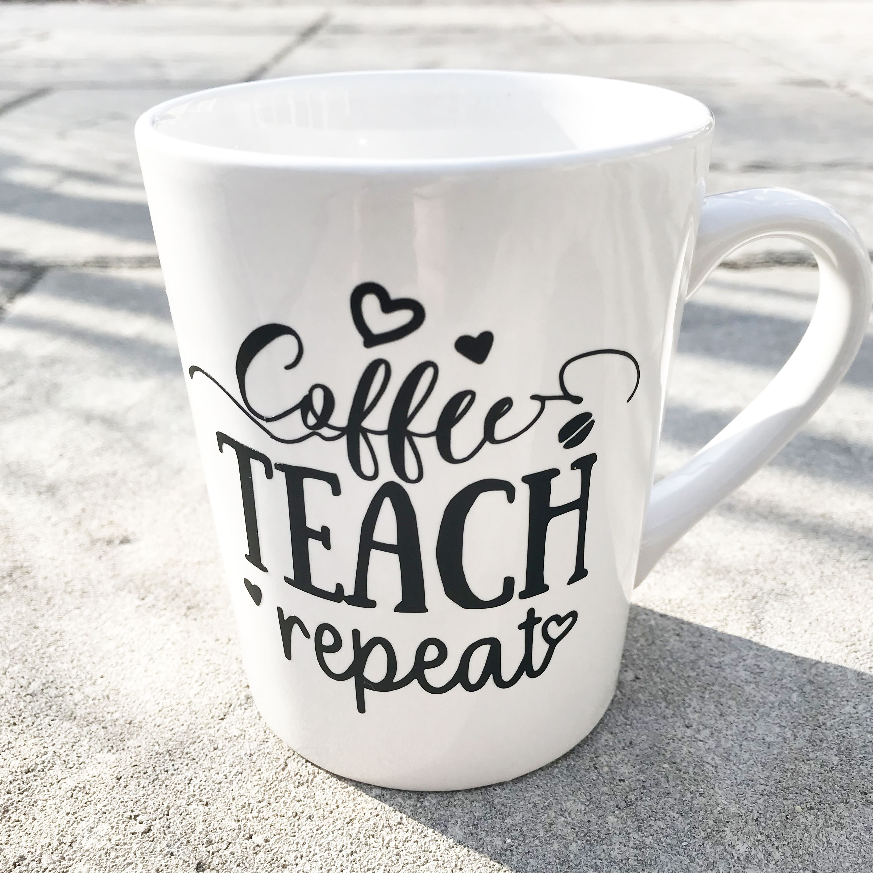 Teacher Coffee Mugs Coffee Mug Quotes Coffee Teach Repeat Coffee Mug Quotes Mugs Coffee Cup Quotes