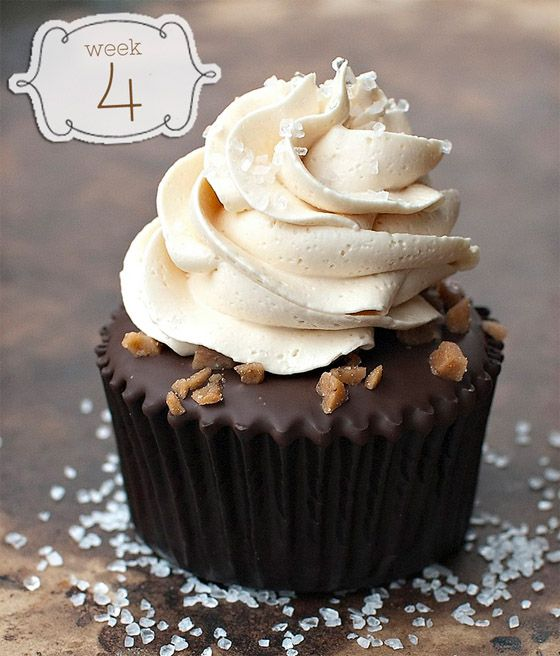 Salted Caramel Chocolate Cupcakes - OMG Chocolate Desserts