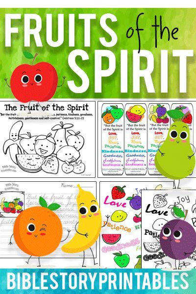 Classroom Decoration Games Free : Free fruits of the spirit bible printables coloring pages