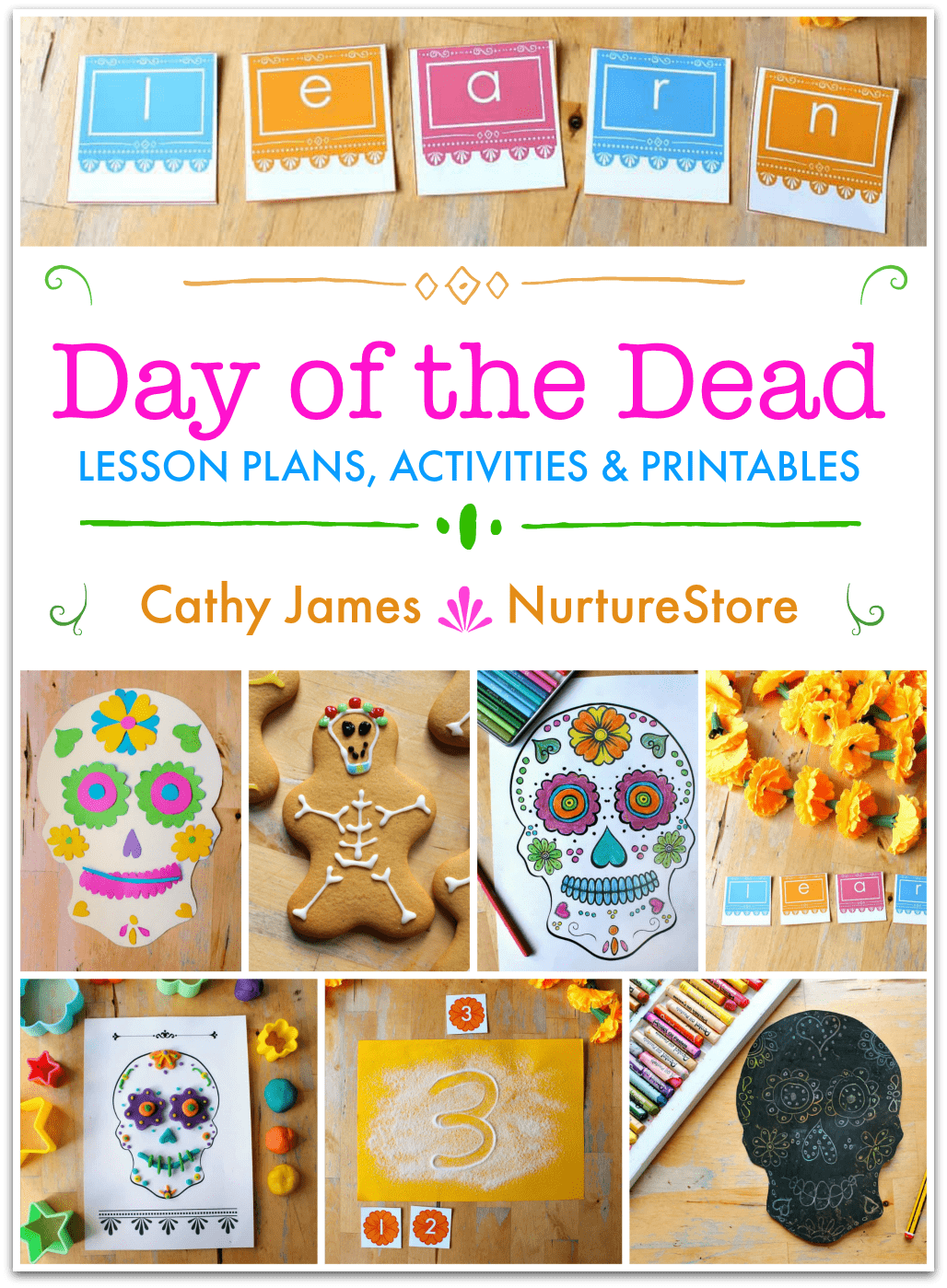 Day Of The Dead Unit Lesson Plans And Activities