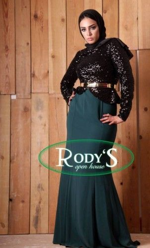 8c8fc55738096 Evening soiree hijab dresses by Rody fashion | Just Trendy Girls ...