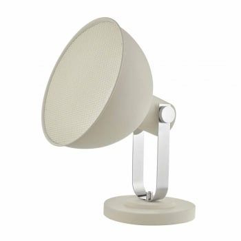 A great statement piece for any room, the rutger floor lamp provides the ultimate in versatlity. Finished in white and polished chrome, it's easy to position and adjust, it's great at creating ambience in a room, or for adding additional light. We love this in any living area! This light is double insulated, ensuring that it is safe to use in homes without an earth cable. Comes complete with an in-line rocker switch for ease of use.