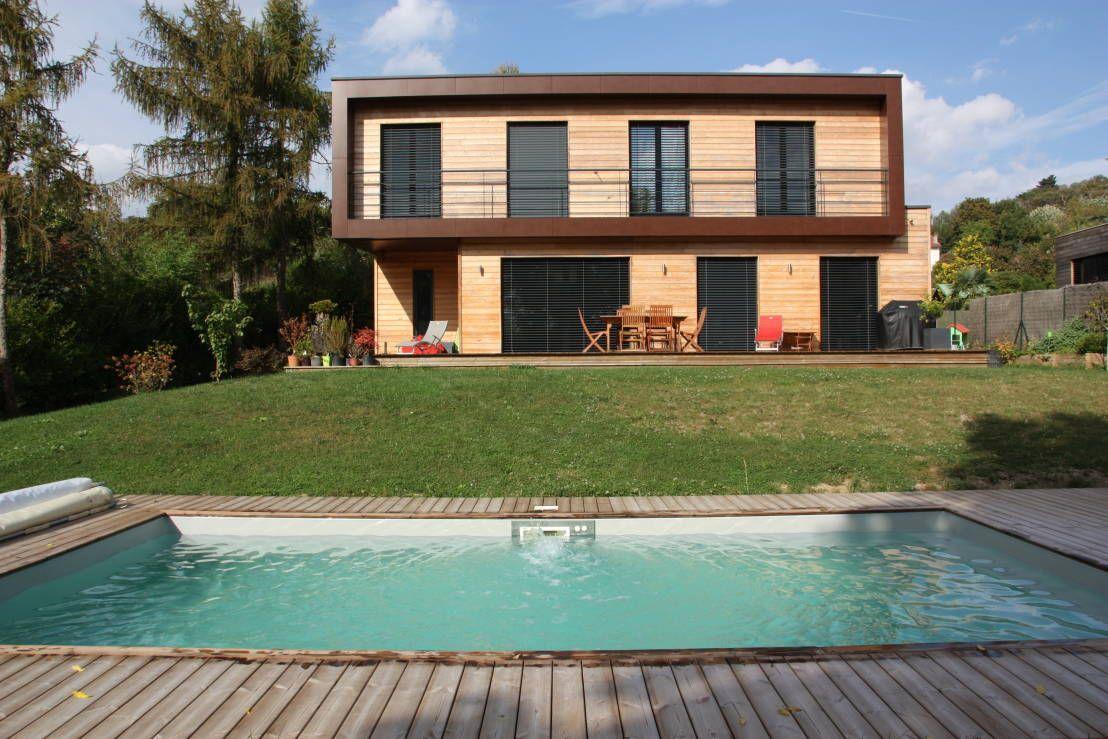 Les plus Belles Maisons de la Semaine | Piscine maison, Piscine ...