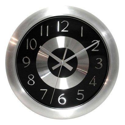 Mercury Wall Clock - Black