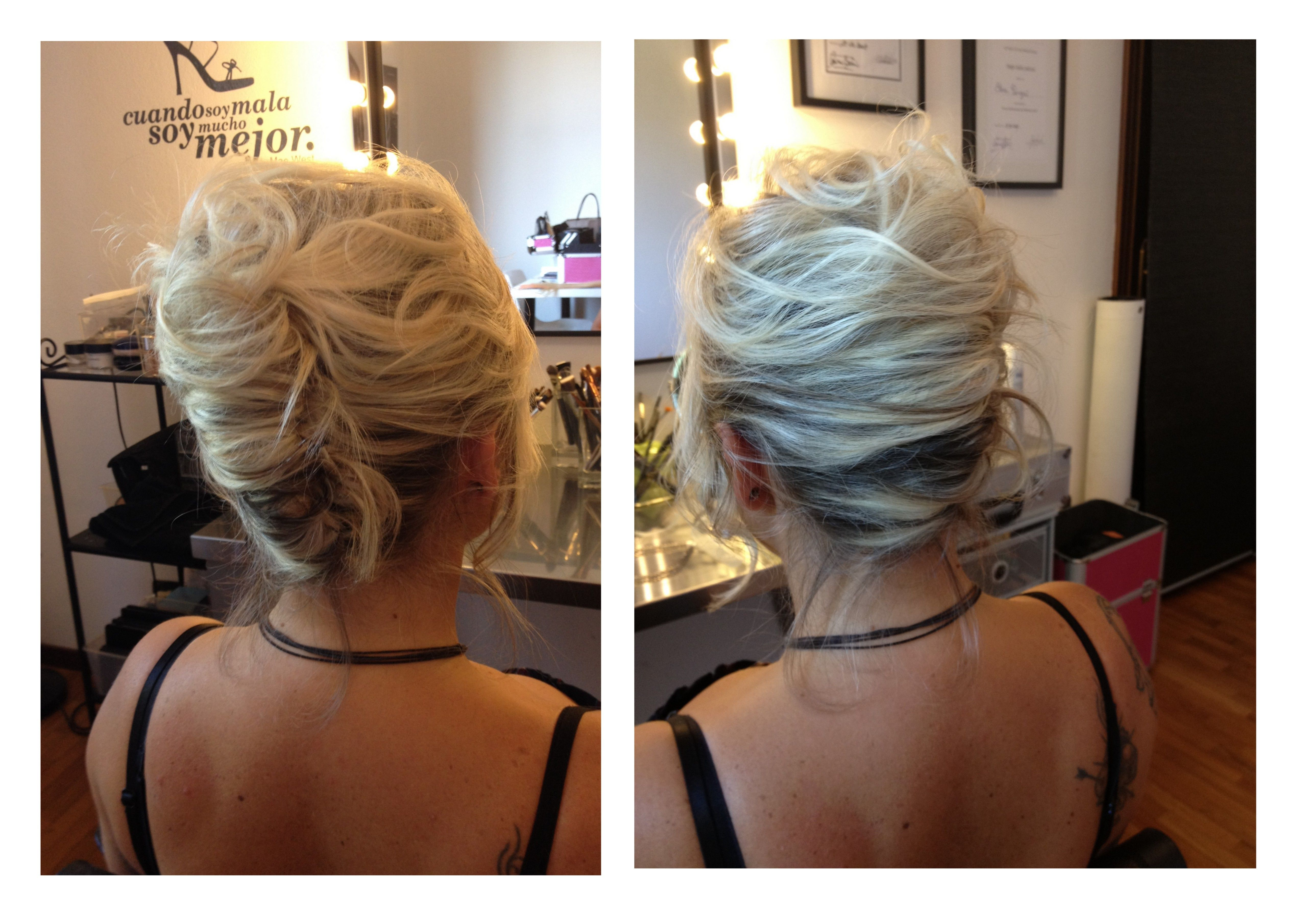 Bridal Hairstyles Messy French Twist