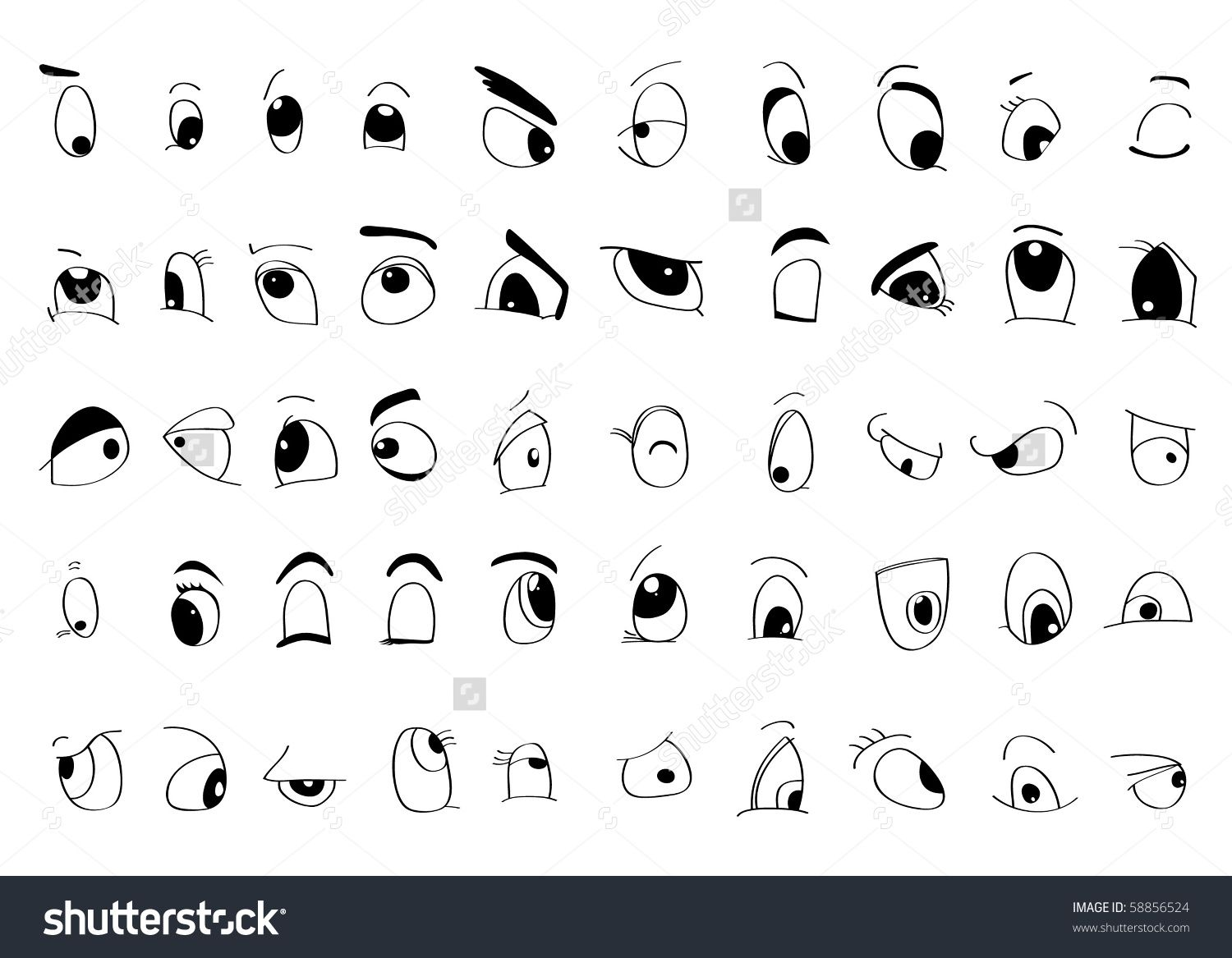 Sample Cartoon Eyes Styles Google Search Cartoon Eyes Cartoon Faces Expressions Cartoon Styles