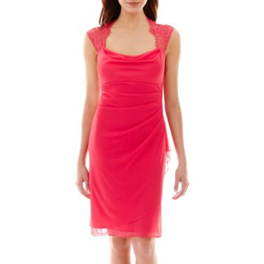 e08cc7172d Scarlett Sleeveless Lace-Shoulder Dress found at  JCPenney