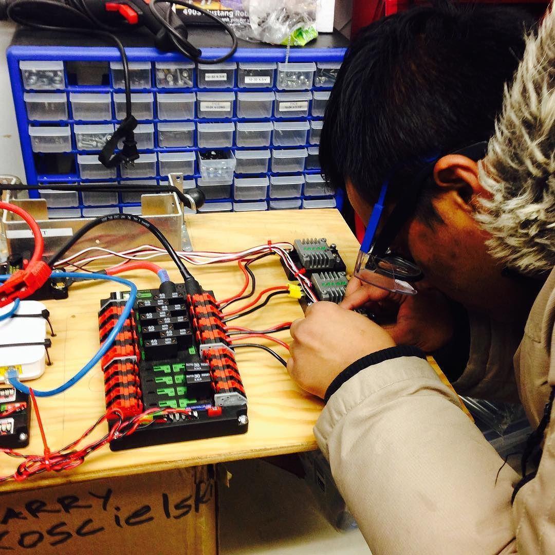 Vincent Massey Robotics Team On Instagram Future Electrical Engineers Frc Frc4903 Stronghold Electrical Engineering Engineering Electricity