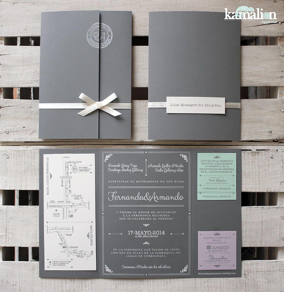 kamalion invitaciones menašs paper goods pinterest wedding