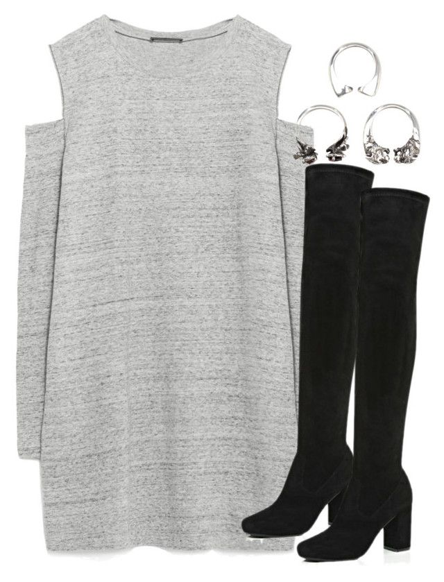 """""""Untitled #2105"""" by do-the-calder ❤ liked on Polyvore featuring Zara, River Island and KD2024"""