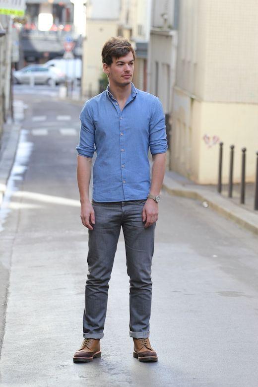 Projet StarShip – La chemise en chambray BG-1.2   Vêtements et ... 94349be34fad