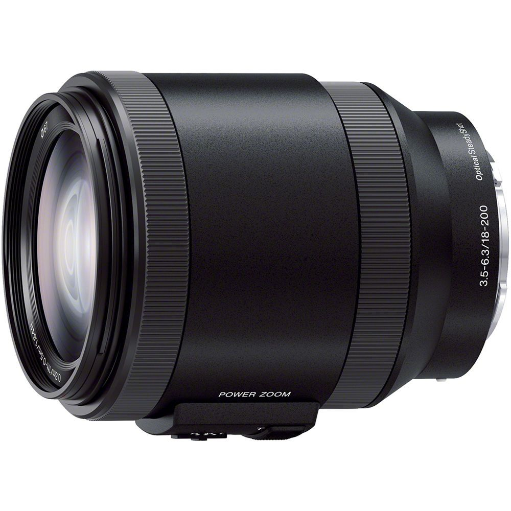 Sony 18 200mm F3 5 6 3 Pz Oss Alpha E Mount Lens Sony Camera Zoom Lens Best Camera