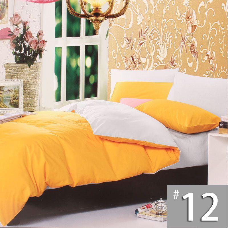 send fast plain solid bedding set single red black 50 cotton