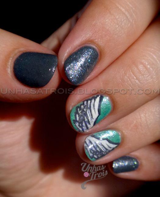 Angel Wings Nail Art | Nails | Pinterest | Angel wings, Tutorial ...