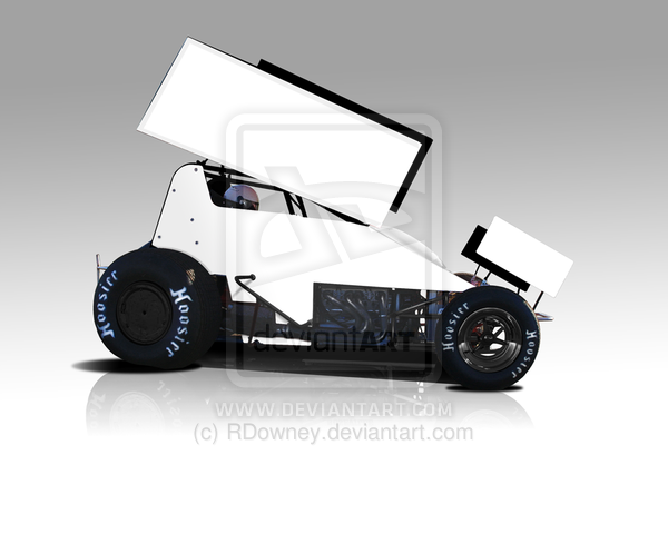 Sprint Car Template By Rdowney On Deviantart