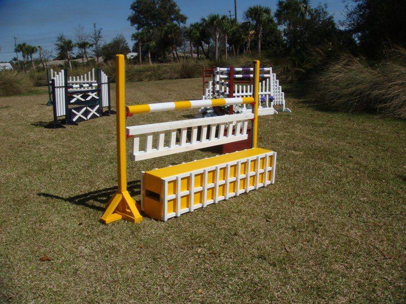 Aluminum Amp Wood Horse Jump Hunter Jumper Equipment Show