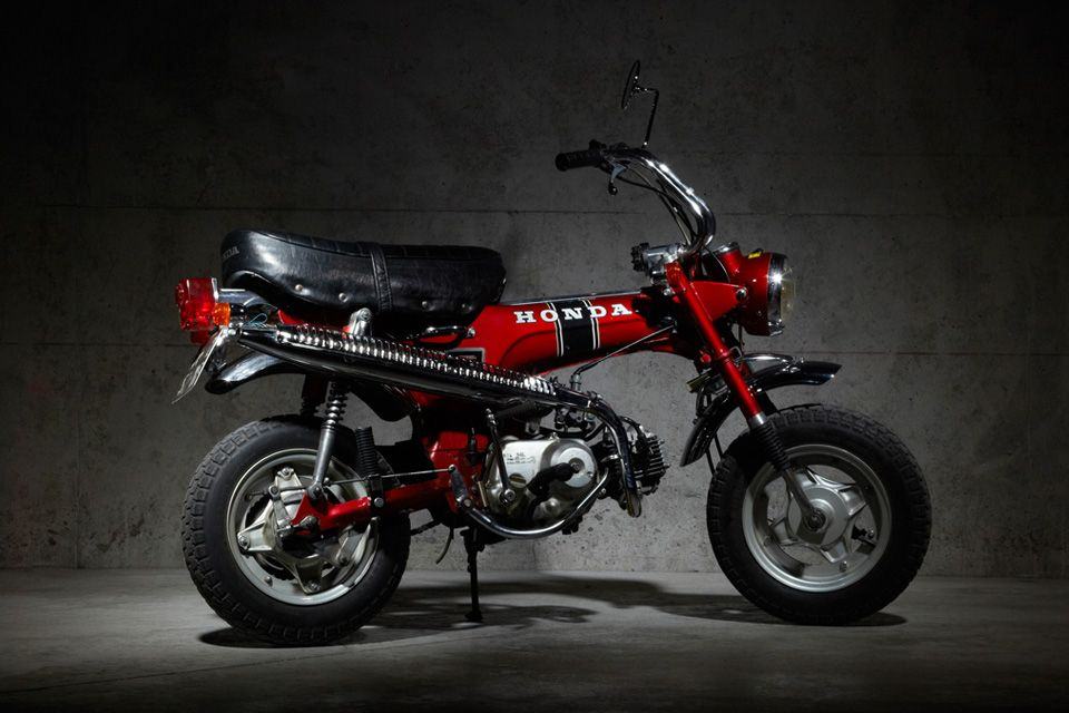 honda dax st70 google search best design pinterest honda mini bike and scooters. Black Bedroom Furniture Sets. Home Design Ideas