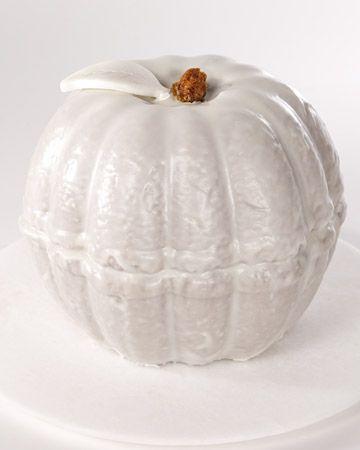 Pumpkin Marble Cake